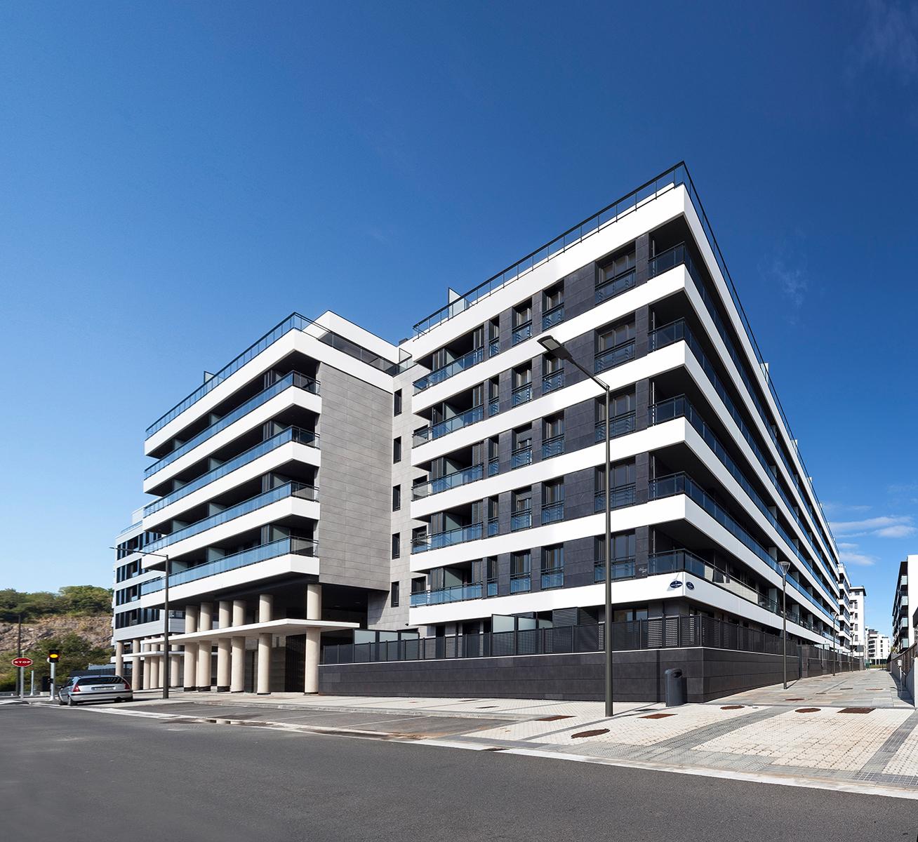 Viviendas en Txomin; Donostia-San Sebastián; Bieme arquitectura